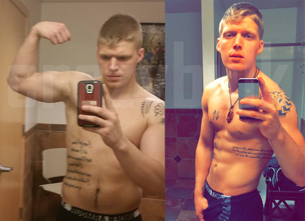 William before and after Crazy Bulk Somatropinne Capsules HGH X2 usage